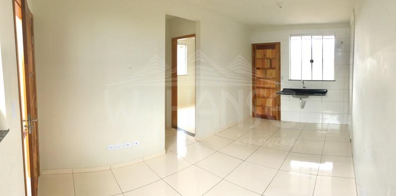 Sala com vista da cozinha