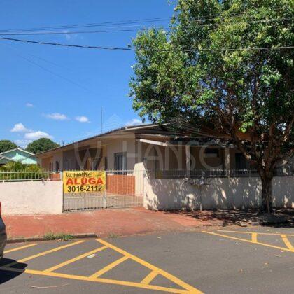 Locação – Residência - Rua Mato Grosso 2641 – Casa 03 – Centro